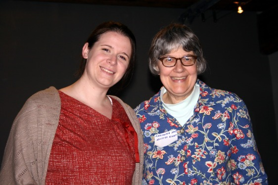 Amanda and Marianne Novy at the Three Rivers Foundation.