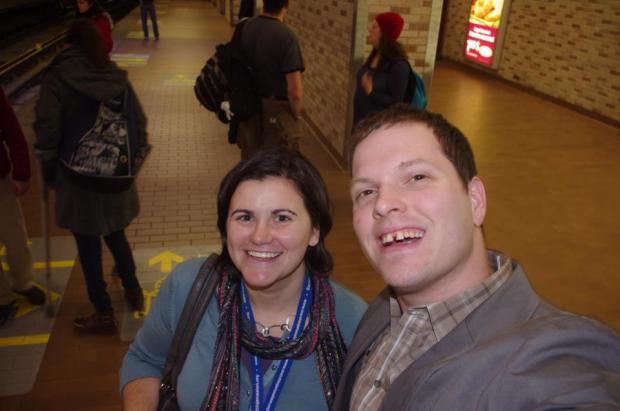 Amanda Keller and Nathaniel Christopher in Montreal