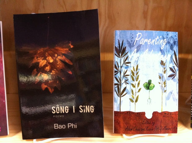 Parenting As Adoptees next to Bao Phi's incredible Sông I Sing