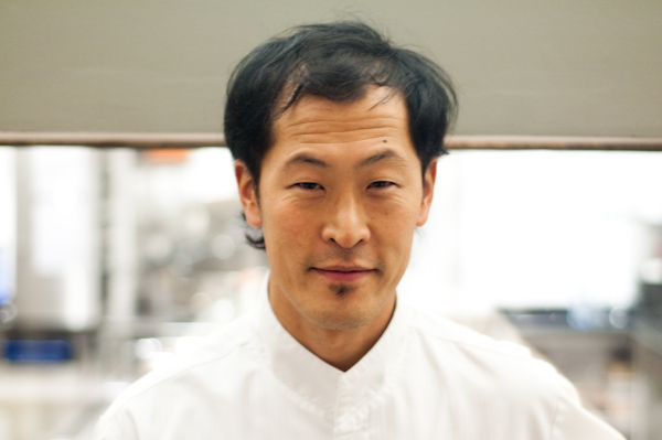 Chef Sang Hoon Dejeimbre of L'Air du Temps - Noville-sur-Mehaign